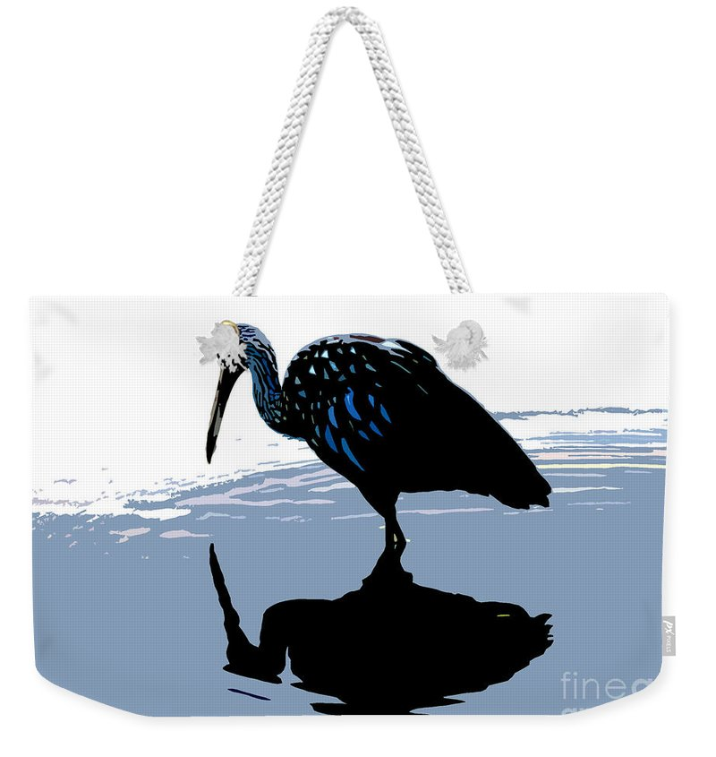 Limp Kin Weekender Tote Bag featuring the photograph Searching by David Lee Thompson