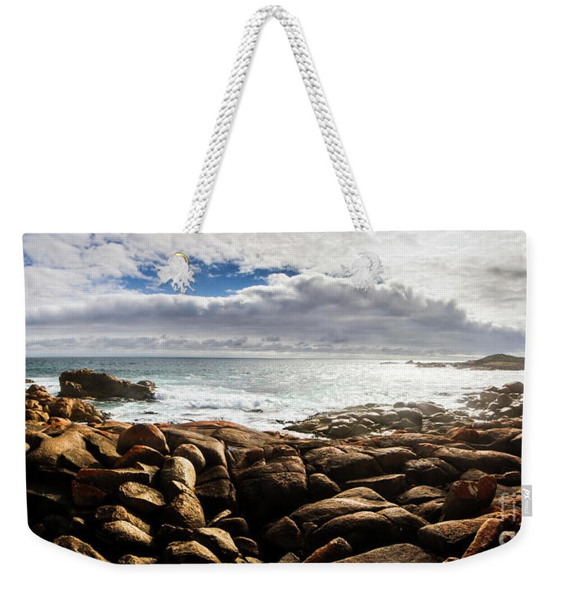 Water Weekender Tote Bag featuring the photograph Seascape In Harmony by Jorgo Photography - Wall Art Gallery