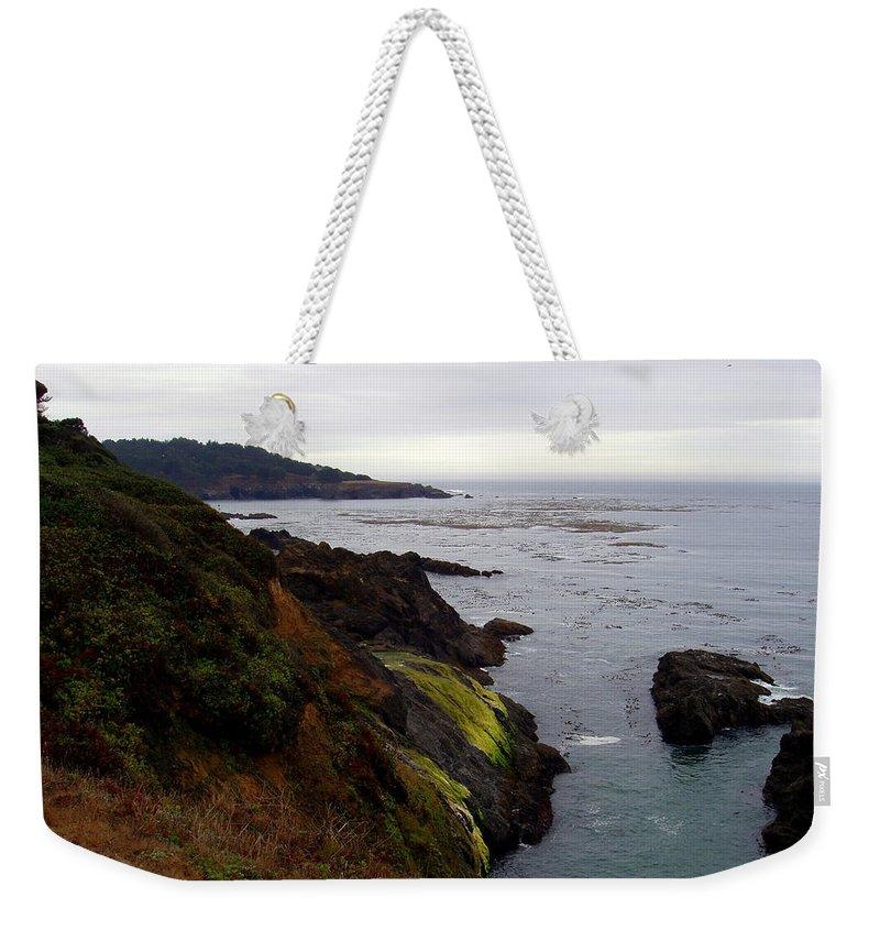 Seaside Weekender Tote Bag featuring the photograph Seaside by Deborah Crew-Johnson