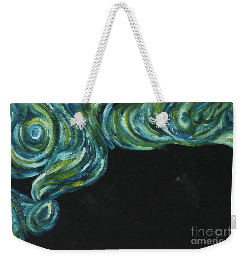 Art Weekender Tote Bag featuring the painting Seaside Dreams 1 by Nour Refaat