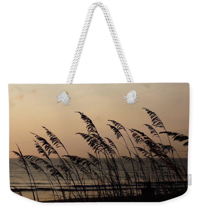Ocean Weekender Tote Bag featuring the photograph Seaside Guardians by JAMART Photography