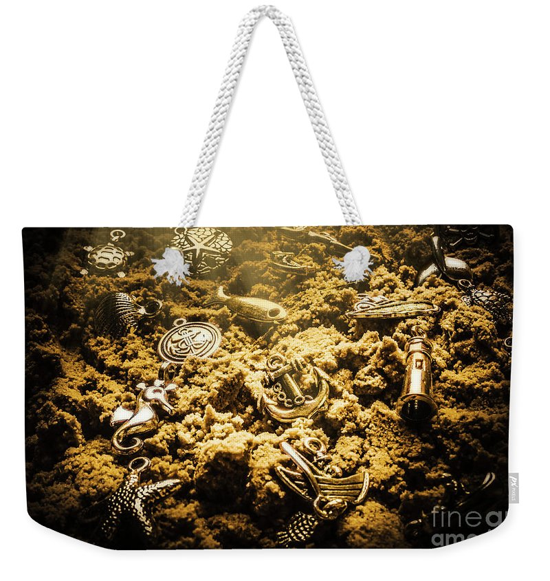 Sea Weekender Tote Bag featuring the photograph Seaside Of Creative Charms by Jorgo Photography - Wall Art Gallery