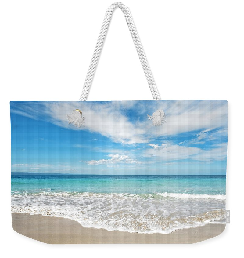 Kangaroo Island Weekender Tote Bag featuring the photograph Seaside Serenity by Catherine Reading