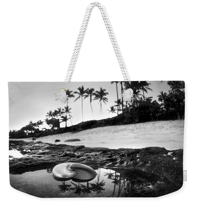 Seaside Treasure Weekender Tote Bag featuring the photograph Seaside Treasure by Sean Davey
