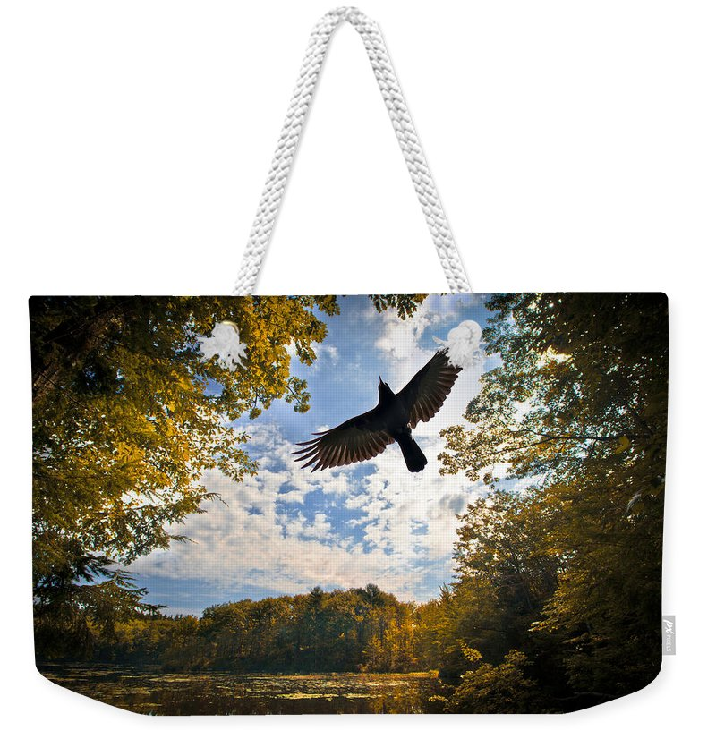 Landscape Weekender Tote Bag featuring the photograph Season Of Change by Bob Orsillo