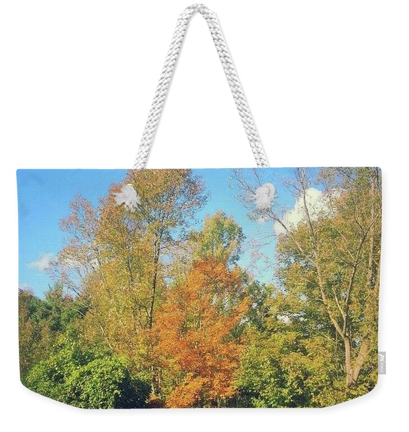 Landscape Weekender Tote Bag featuring the photograph Seasons by Brian Groves