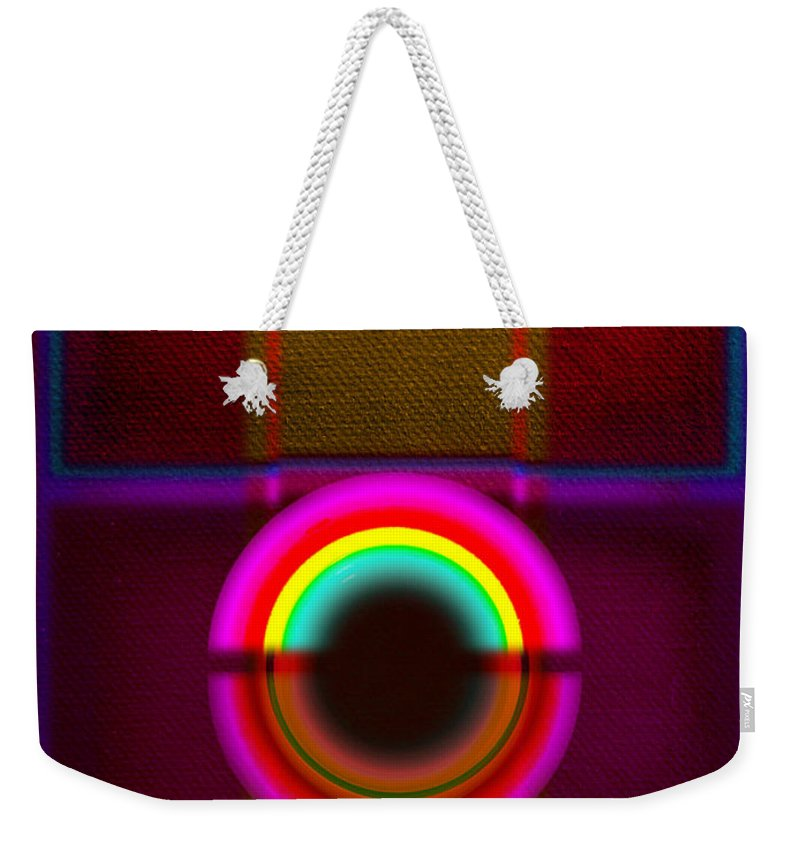Portal Weekender Tote Bag featuring the painting Section by Charles Stuart