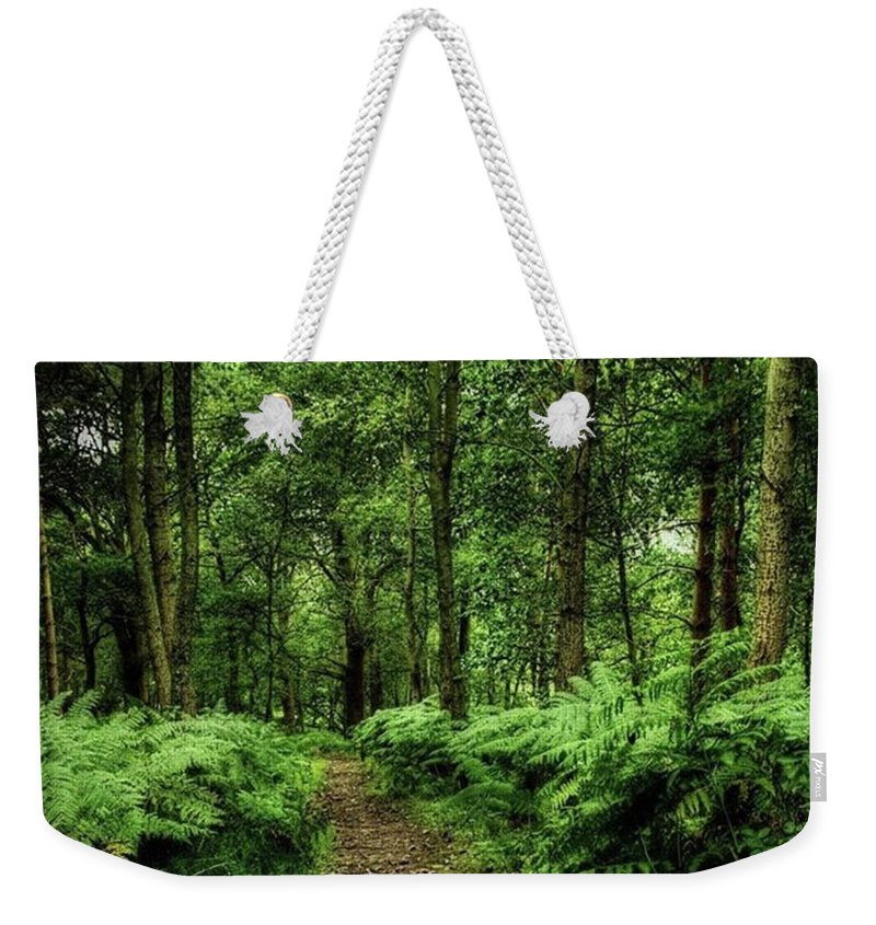Nature Weekender Tote Bag featuring the photograph Seeswood, Nuneaton by John Edwards