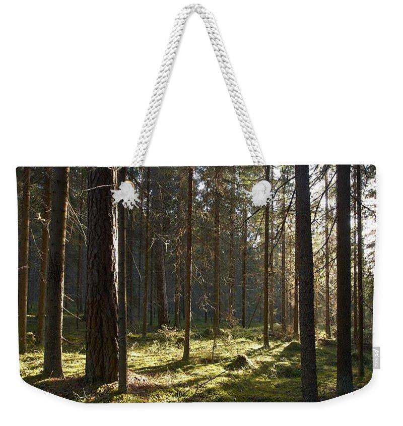 Lehtokukka Weekender Tote Bag featuring the photograph Seitseminen National Park by Jouko Lehto