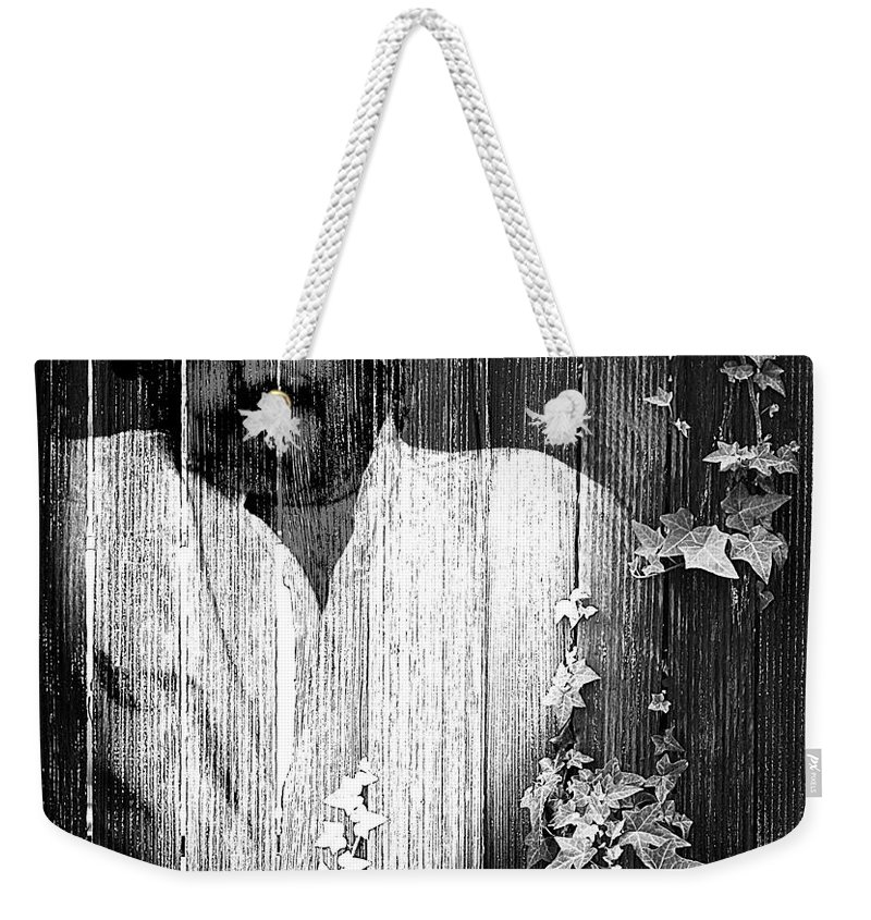 Clay Weekender Tote Bag featuring the photograph Self Portrait by Clayton Bruster
