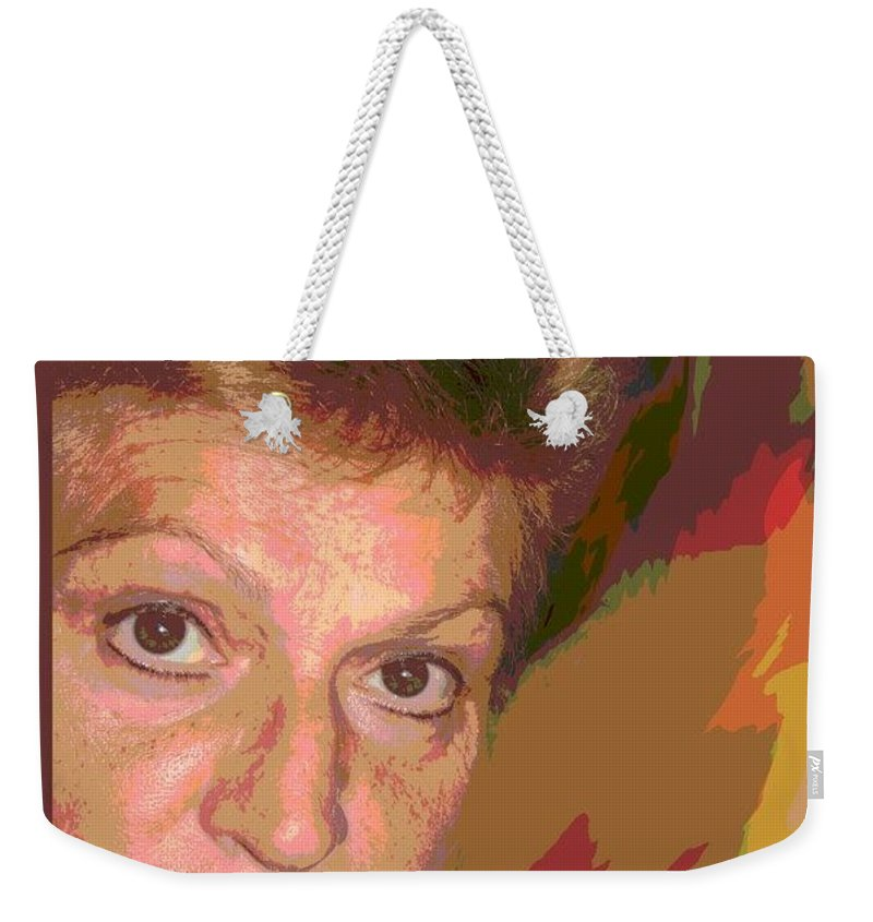 Self Portrait Weekender Tote Bag featuring the photograph self portrait IV by Dragica Micki Fortuna
