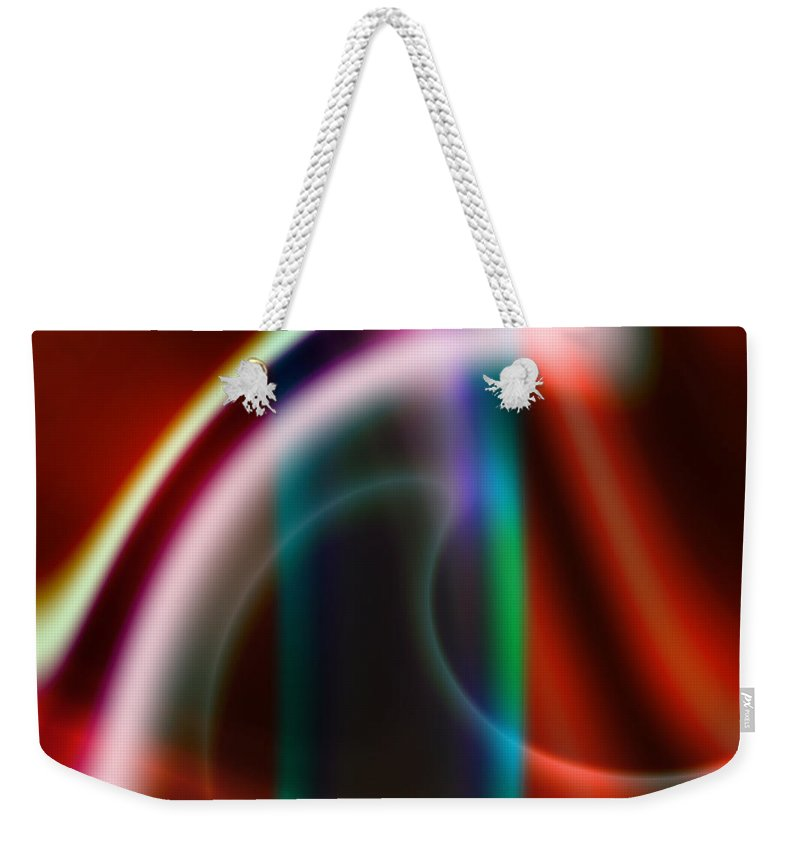 Art Weekender Tote Bag featuring the digital art Semblance by Candice Danielle Hughes