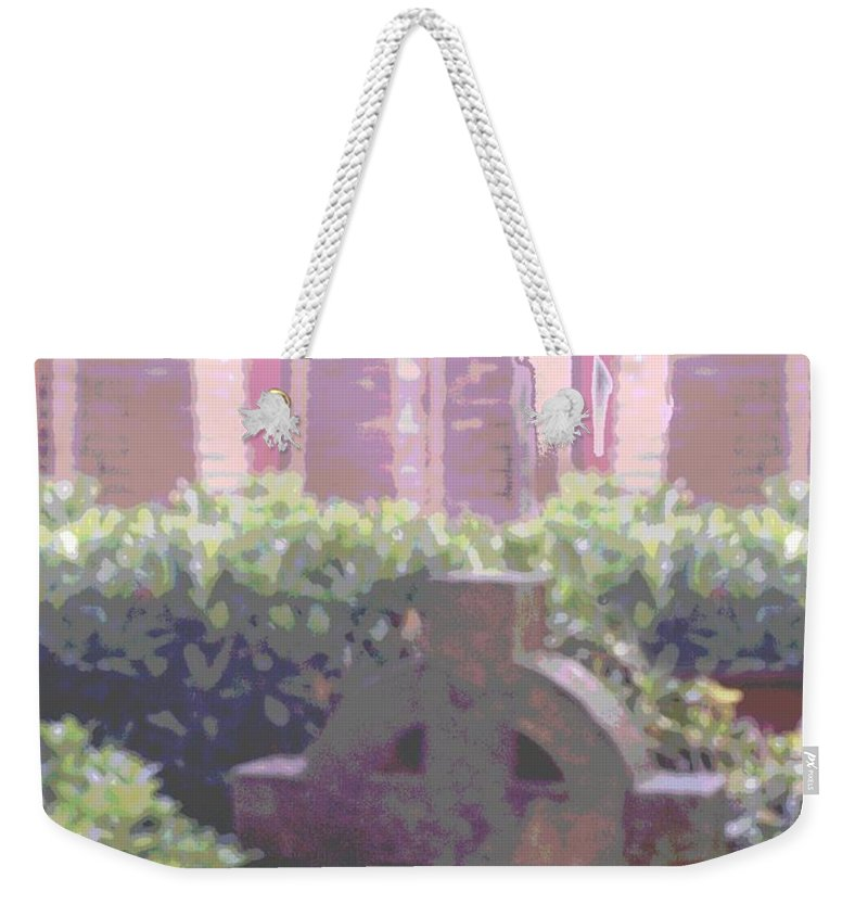Church Weekender Tote Bag featuring the photograph Seminal Moment by Tim Allen