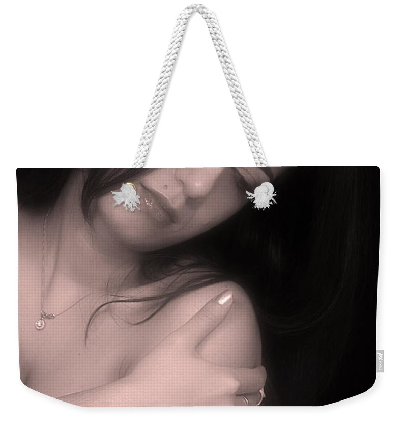 Clay Weekender Tote Bag featuring the photograph Sensual Lmorn by Clayton Bruster