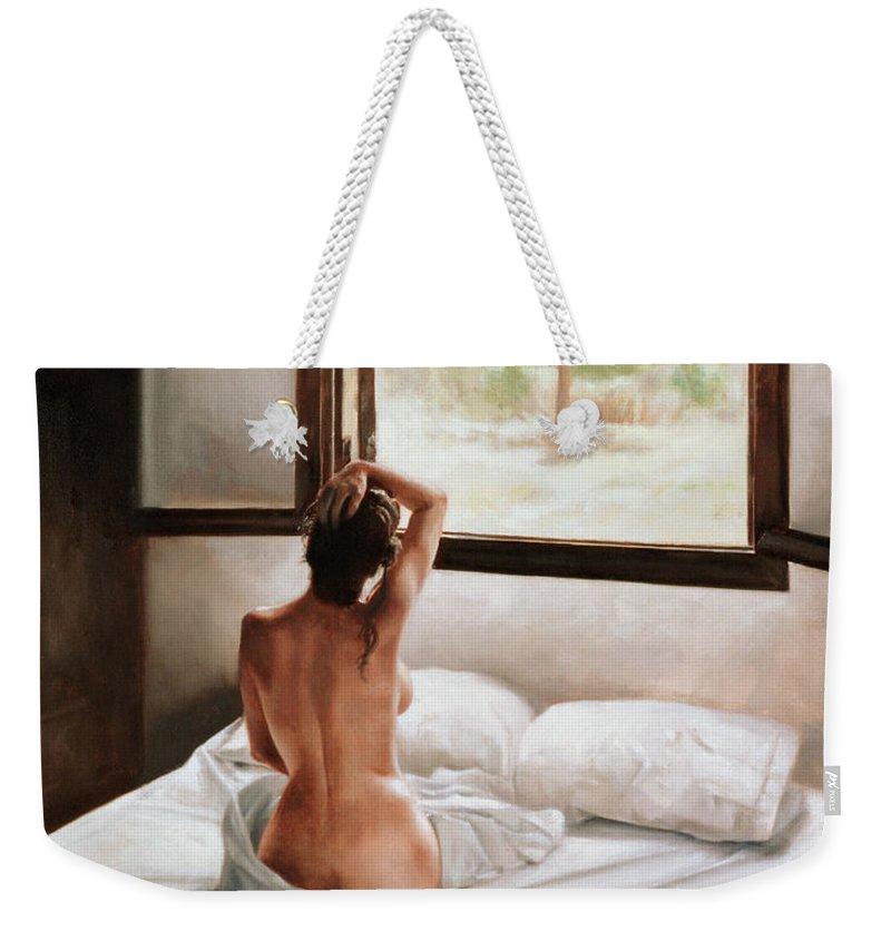 Figure Weekender Tote Bags