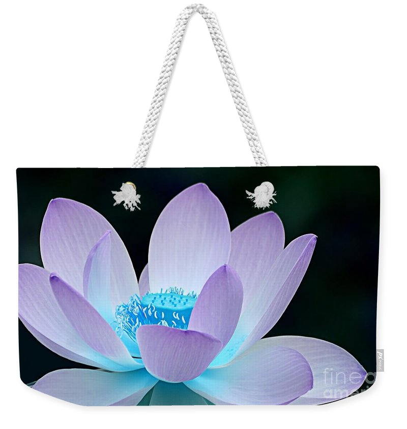 Flower Weekender Tote Bag featuring the photograph Serene by Jacky Gerritsen