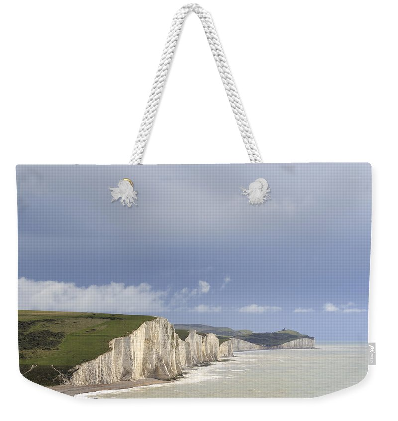 England Weekender Tote Bag featuring the photograph Seven Sisters - 4 by Chris Smith