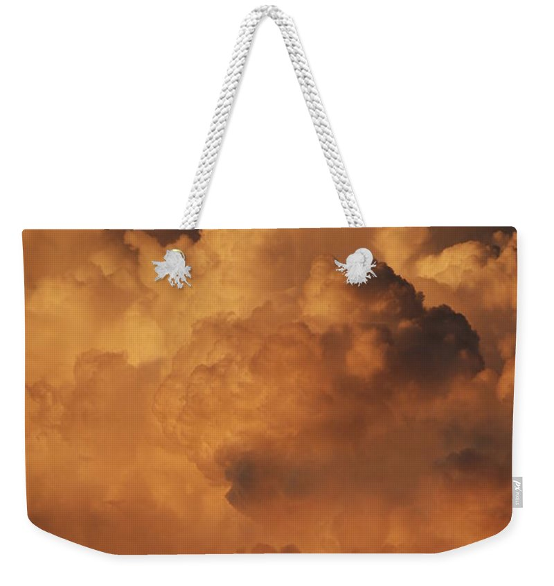 Clouds Weekender Tote Bag featuring the photograph Shades Of Color by Rob Hans