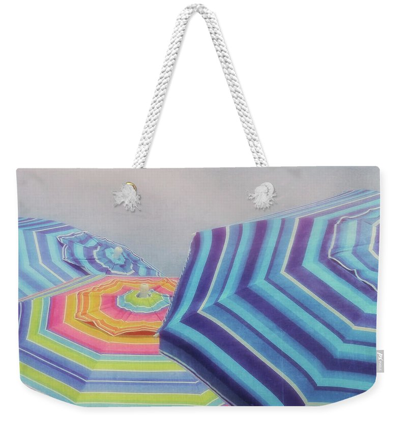 Beach Weekender Tote Bag featuring the photograph Shades Of Summer by JAMART Photography