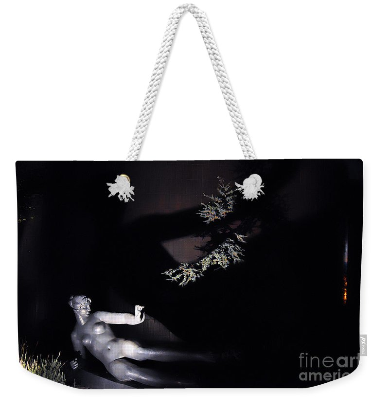 Clay Weekender Tote Bag featuring the photograph Shadow Art by Clayton Bruster