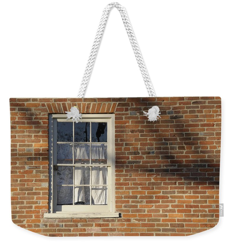 Window Weekender Tote Bag featuring the photograph Shadow by David Arment