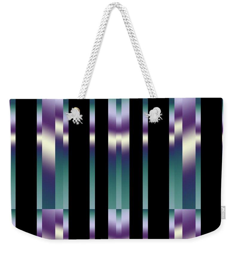 Art Weekender Tote Bag featuring the digital art Shadows by Candice Danielle Hughes