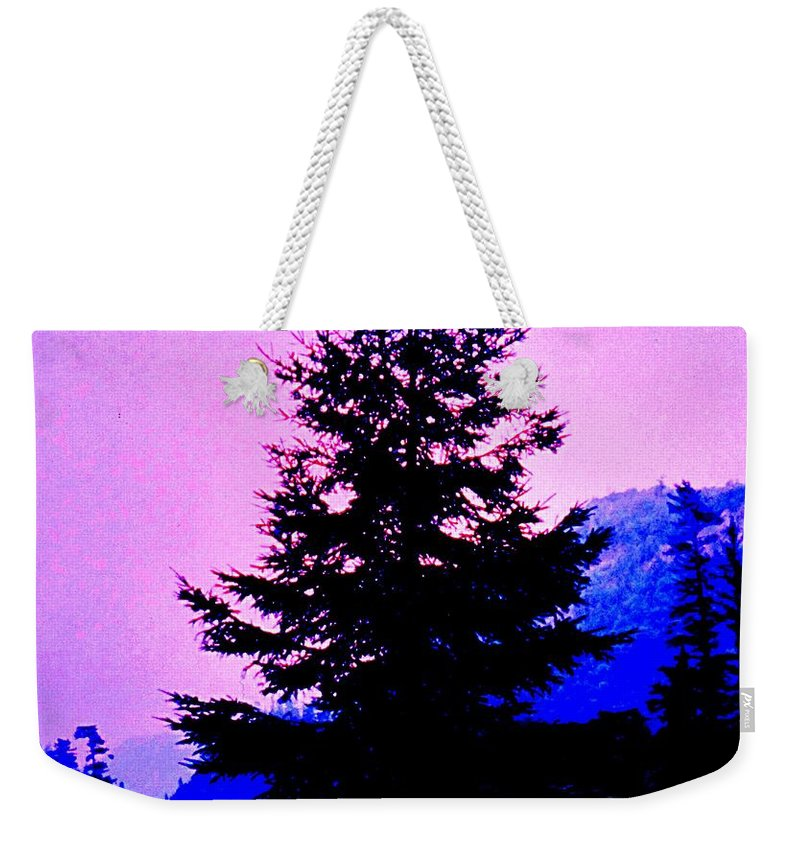 Agawa Weekender Tote Bag featuring the photograph Shadows In The Canyon by Ian MacDonald