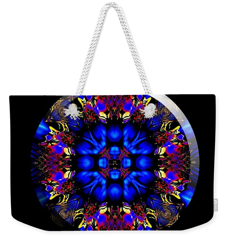 Coin Weekender Tote Bag featuring the digital art Shanna by Robert Orinski