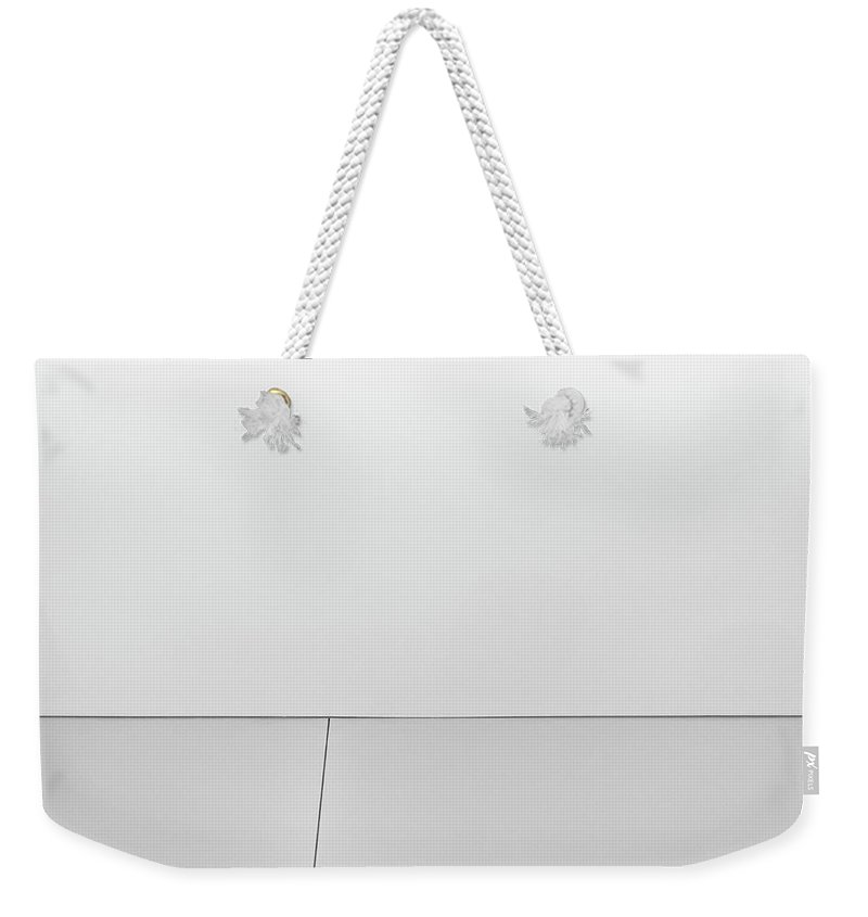Minimalist Weekender Tote Bag featuring the photograph Shape And Line I by Scott Norris