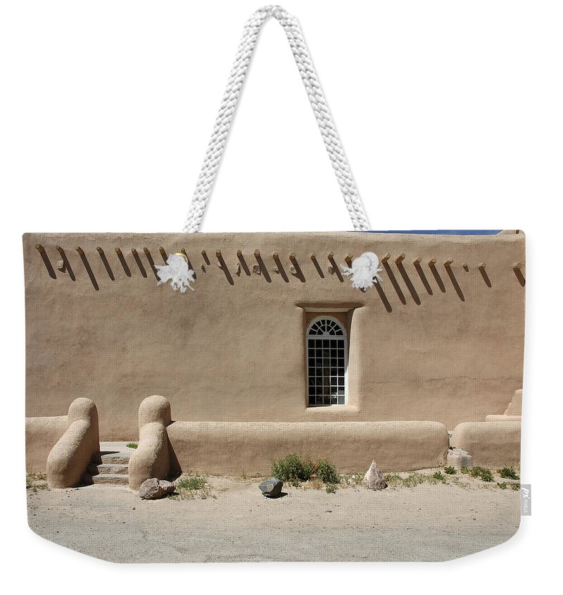 Adobe Weekender Tote Bag featuring the photograph Shape And Pattern by Jerry McElroy
