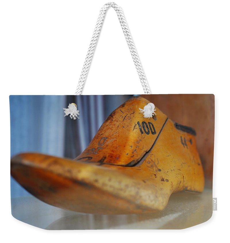 Wooden Weekender Tote Bag featuring the photograph Shape Shifter by Skip Hunt