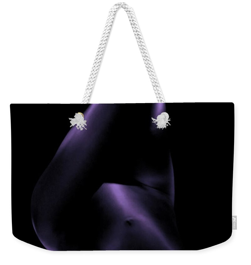 Female Weekender Tote Bag featuring the photograph Shapes 6 by Sergio Bondioni