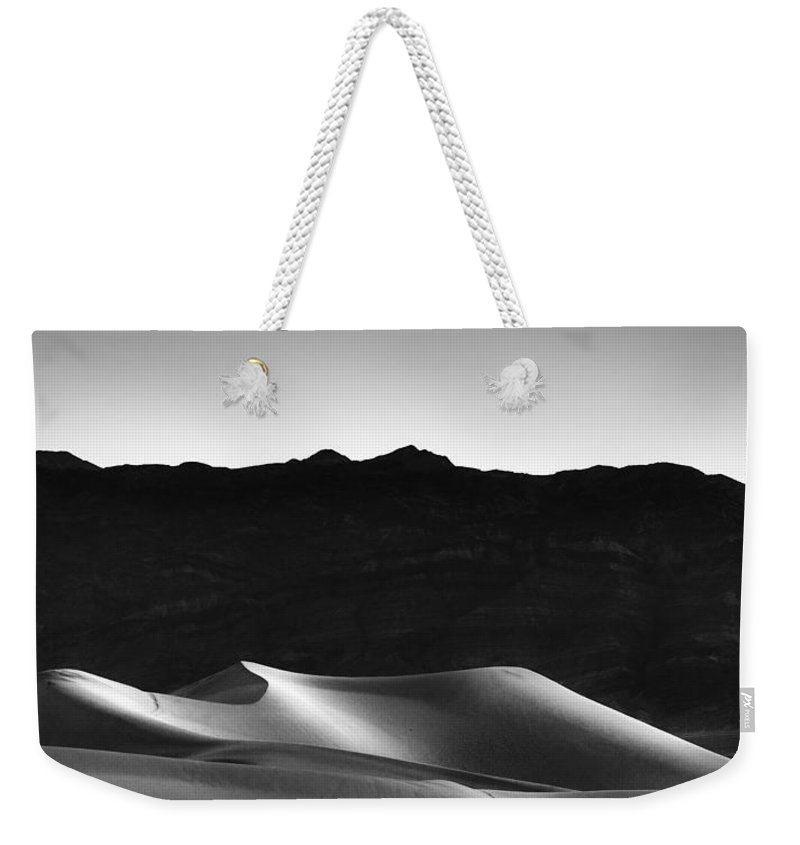 California Weekender Tote Bag featuring the photograph She Sleeps On Her Side by Peter Tellone