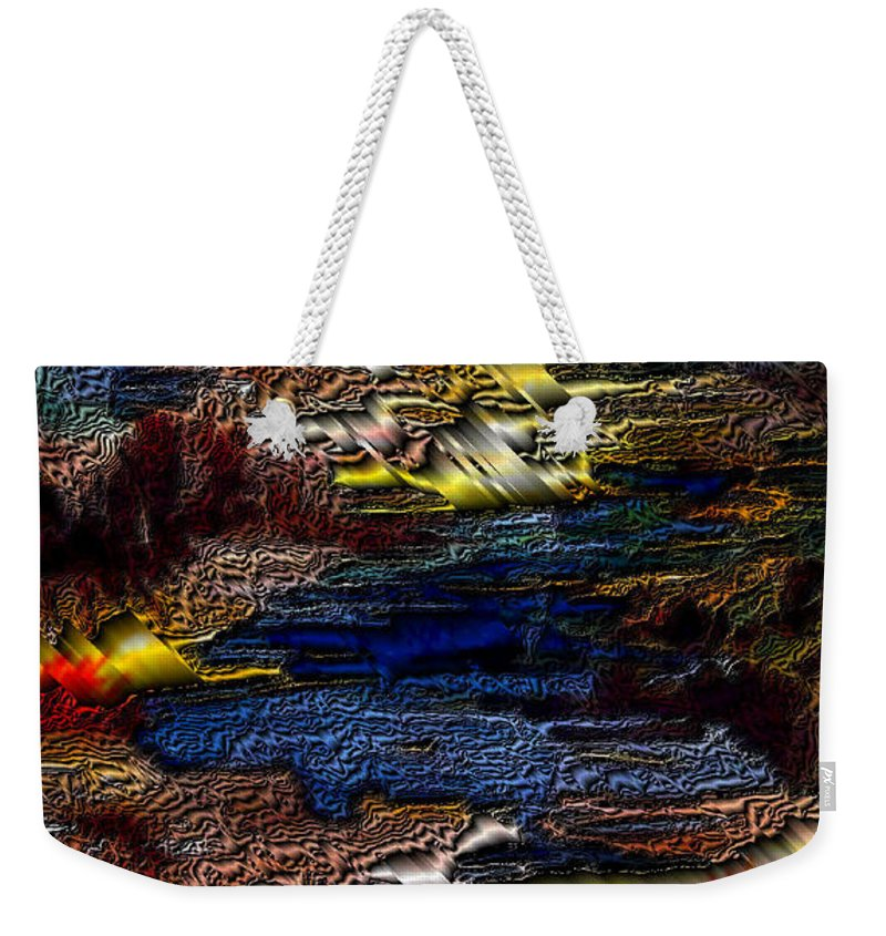 Metal Reflections Weekender Tote Bag featuring the photograph Sheet Metal by Joanne Smoley