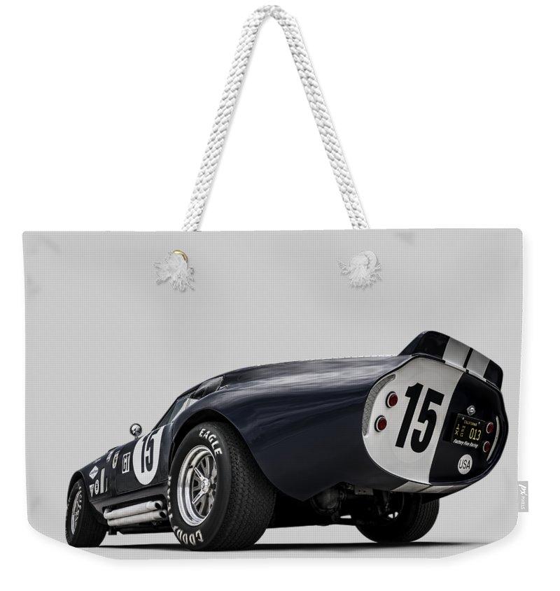 Transport Weekender Tote Bags