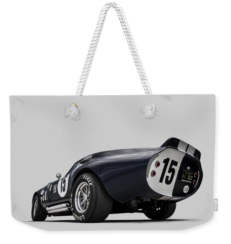 Motor Digital Art Weekender Tote Bags