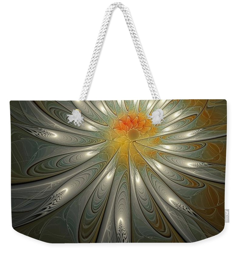 Digital Art Weekender Tote Bag featuring the digital art Shimmer by Amanda Moore