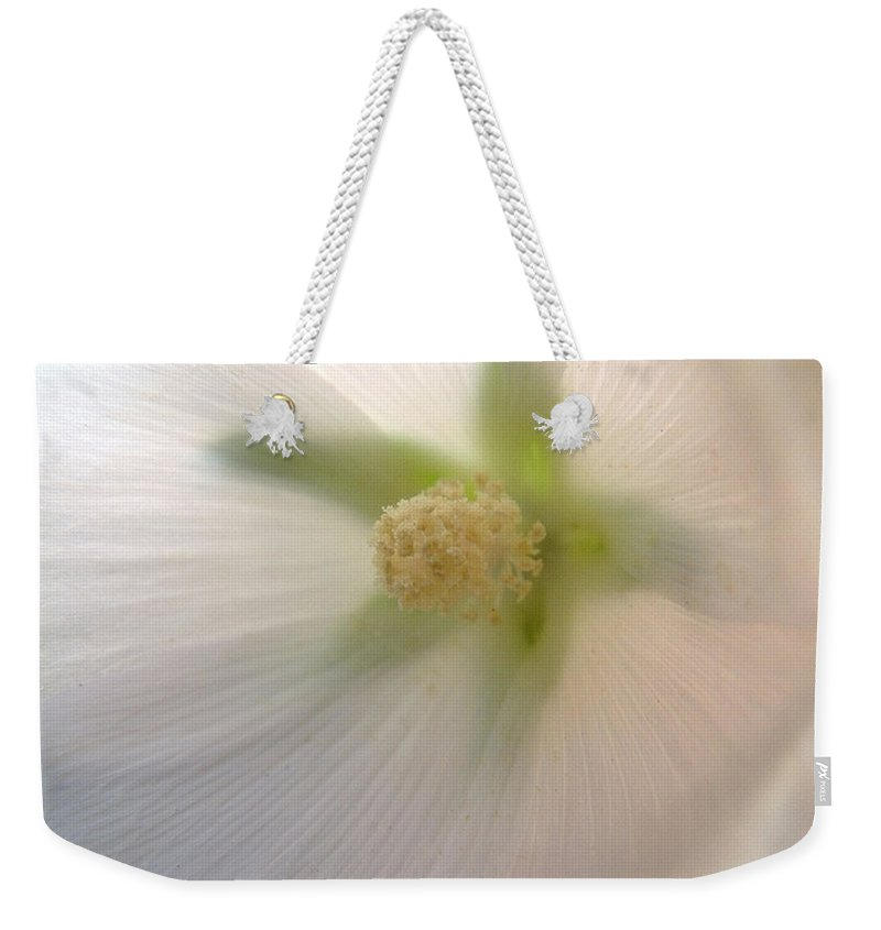 Blossom Weekender Tote Bag featuring the photograph Shimmer by RC DeWinter