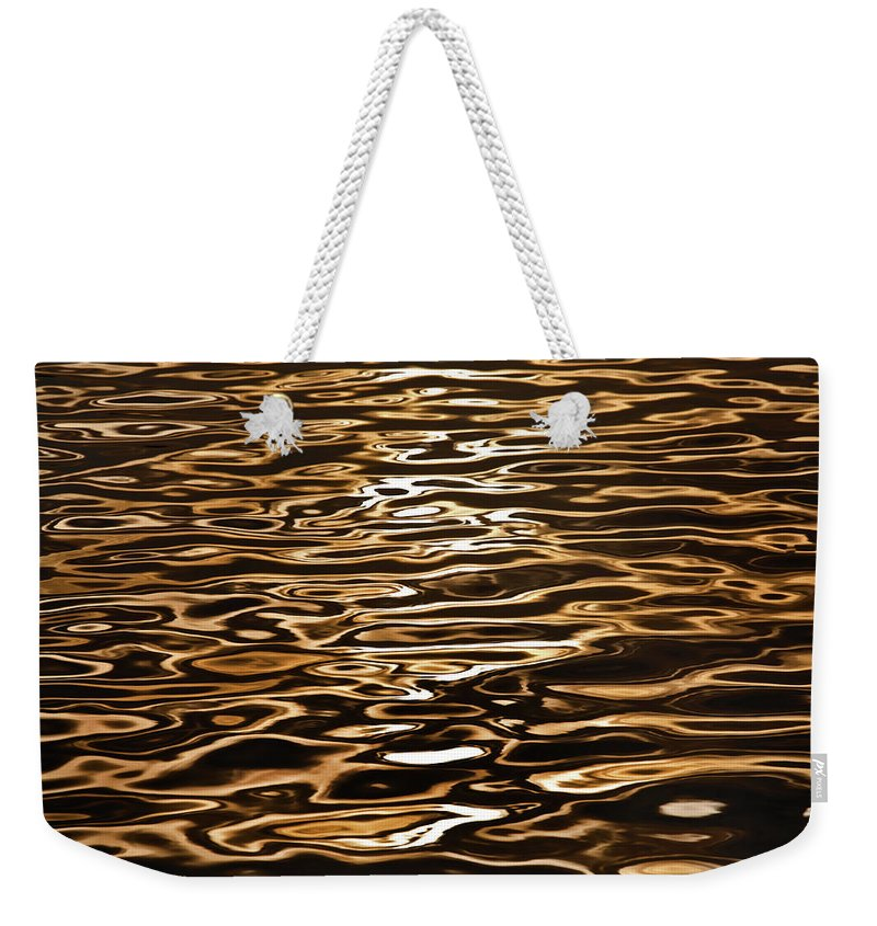 Australian Beaches Weekender Tote Bag featuring the photograph Shimmering Reflections by Az Jackson