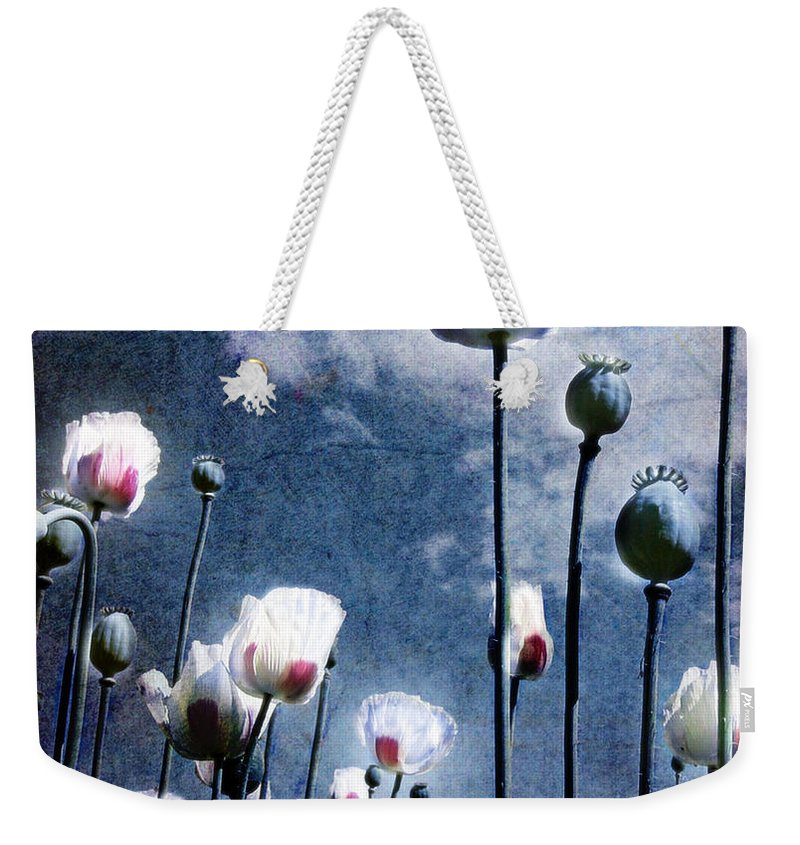 Flowers Weekender Tote Bag featuring the photograph Shine Through by Jacky Gerritsen