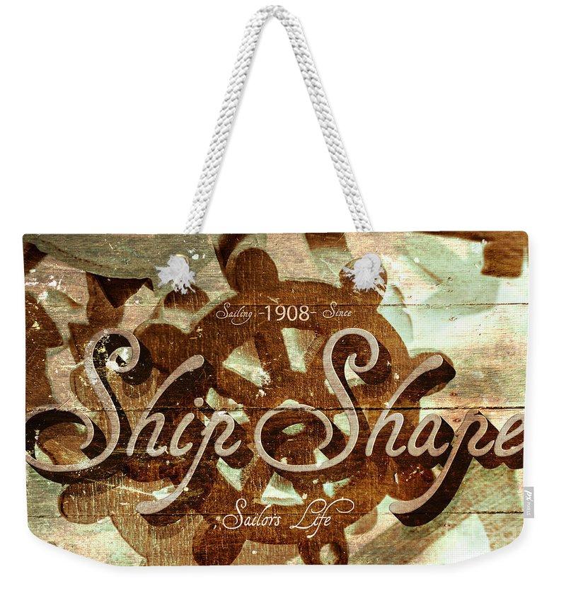 Wooden Weekender Tote Bags