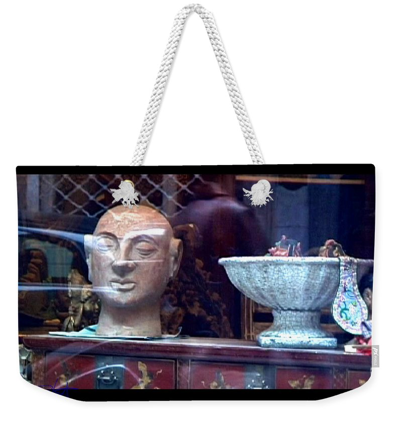 Dream Weekender Tote Bag featuring the photograph Shop Window by Charles Stuart