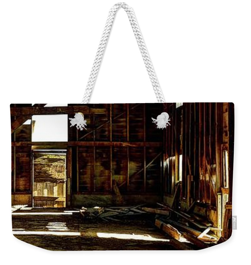 Storage Weekender Tote Bag featuring the photograph Should'a Been A Dancehall by Jerry Sodorff