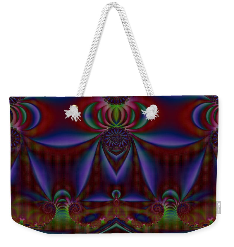 Art Weekender Tote Bag featuring the digital art Showcase by Candice Danielle Hughes