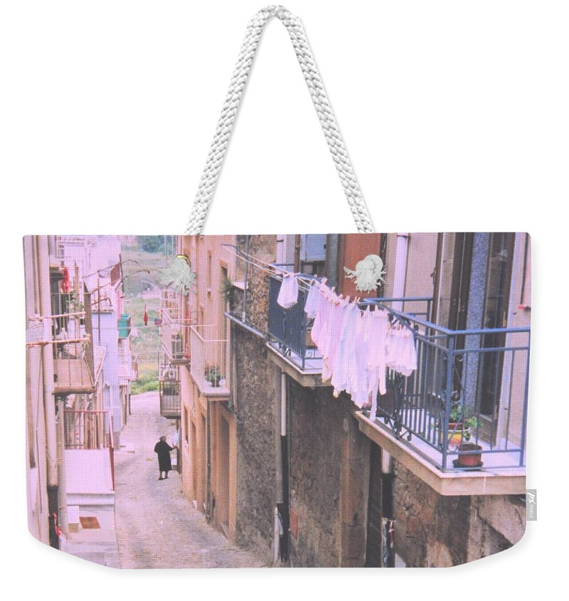 Sicily Weekender Tote Bag featuring the photograph Sicily by Ian MacDonald