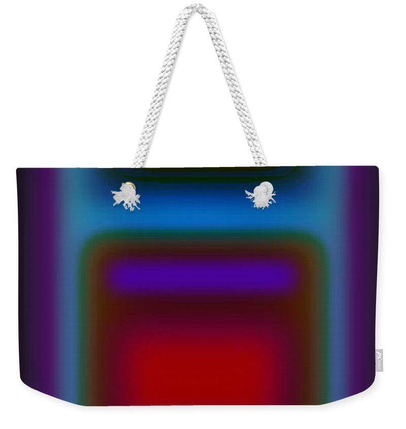 Landscape Weekender Tote Bag featuring the painting Signal by Charles Stuart