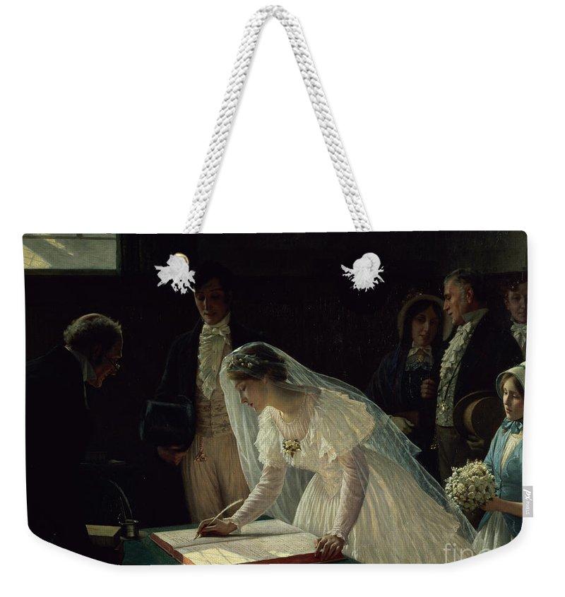 Registered Weekender Tote Bags