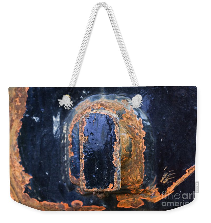 Structure Weekender Tote Bag featuring the photograph Signs-2 by Casper Cammeraat