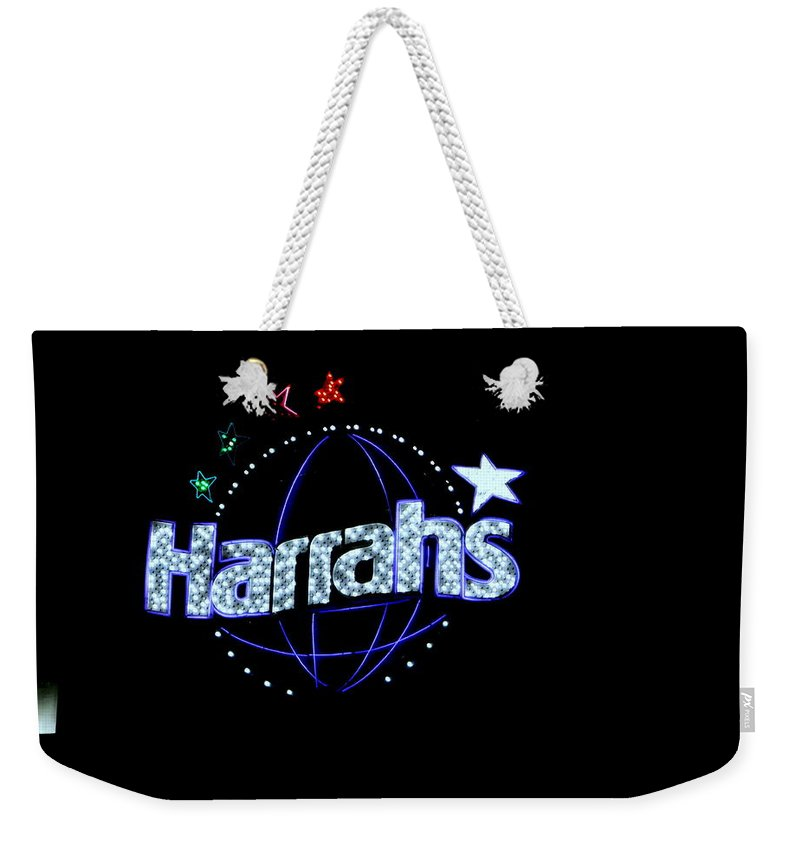 Harrah's Weekender Tote Bag featuring the photograph Signs And Sayings - 4 by Arlane Crump