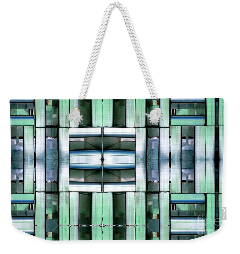 Hvac Weekender Tote Bag featuring the digital art Silencer by Ron Bissett